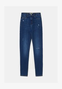 TALLY WEiJL - Jeans Skinny Fit - dark blue denim - 4