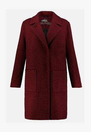 Classic coat - weinrot