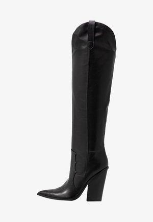 RANGER - High heeled boots - black