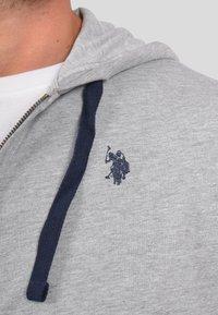 U.S. Polo Assn. - Zip-up sweatshirt - grau - 3