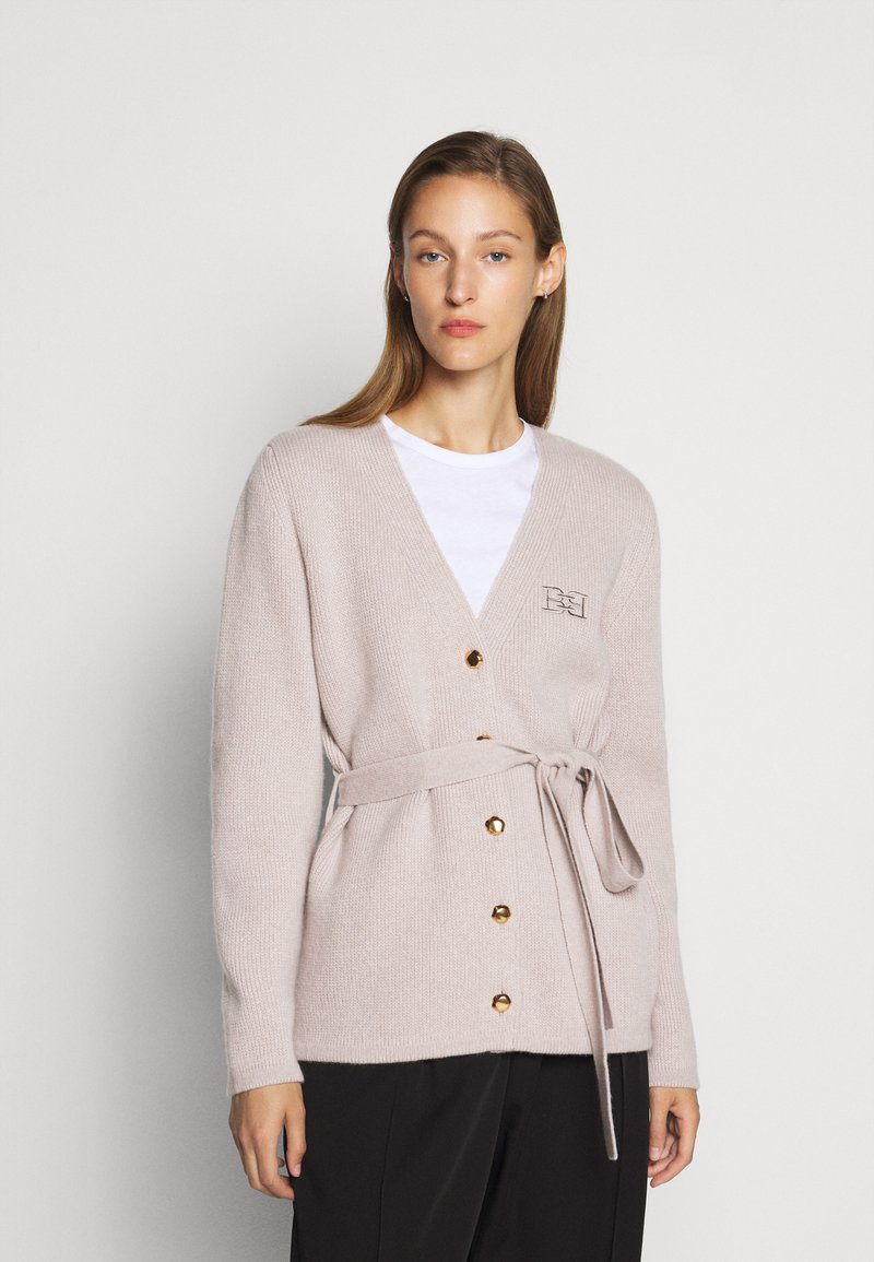 Bally - BELTED CARDIGAN - Kardigan - caillou