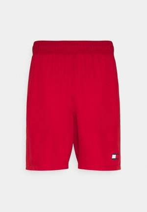 LOGO FLAG SHORT - Korte broeken - red