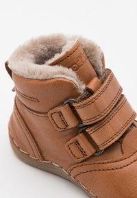 Froddo - PAIX WINTER SHOES WIDE FIT UNISEX - Baby shoes - cognac - 5