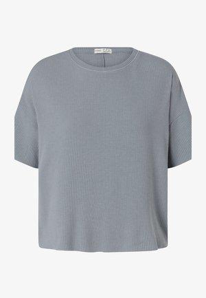 SHORT SLEEVED - Pyjama top - blue