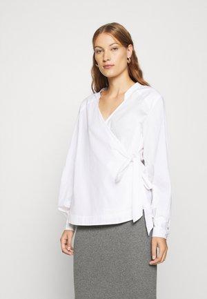 STRAP WRAP AROUND - Blouse - white
