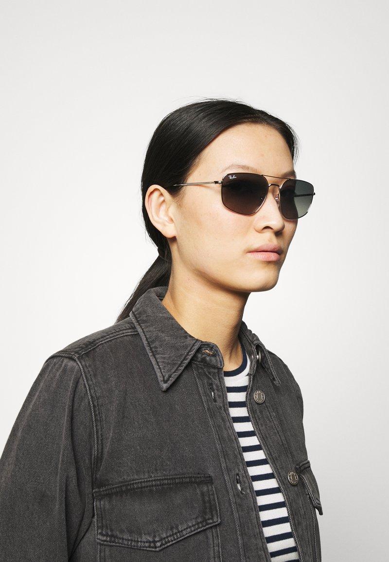 Ray-Ban - UNISEX - Sunglasses - shiny silver-coloured