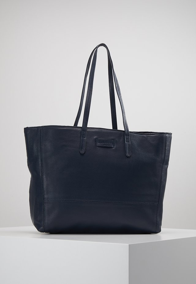 SHOPPER - Shopping bag - navy blue