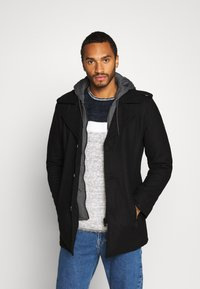INDICODE JEANS - ADAIR - Short coat - black - 0