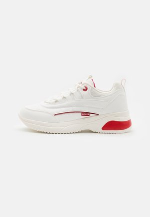 CHELSEA UNISEX - Trainers - white/red