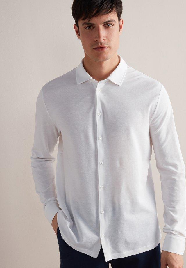 Kostymskjorta - bianco