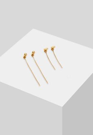 2PACK - Earrings - gold