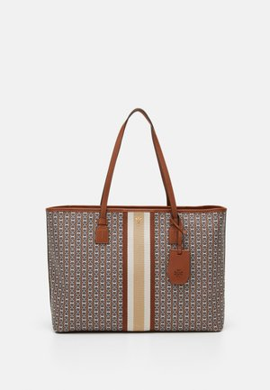 GEMINI LINK ZIP TOTE - Tote bag - light umber