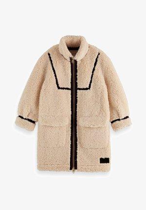 LONGER LENGTH BONDED COAT - Płaszcz zimowy - off white