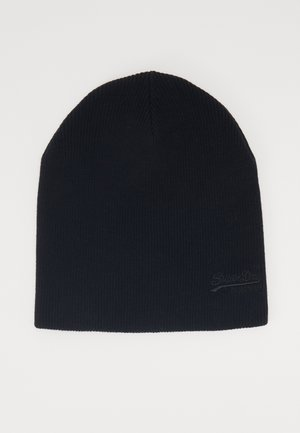 ORANGE LABEL BEANIE - Muts - black