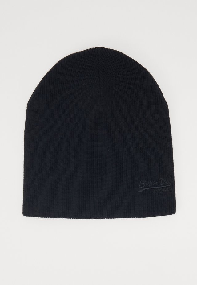 ORANGE LABEL BEANIE - Čepice - black