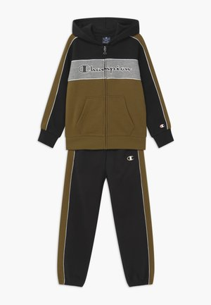 LEGACY HOODED FULL ZIP SUIT SET - Tracksuit - black
