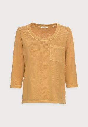 Long sleeved top - sweet corn