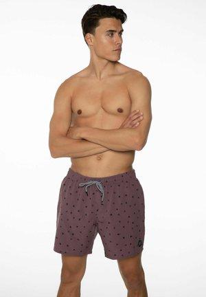BARAT - Swimming shorts - marron fabric