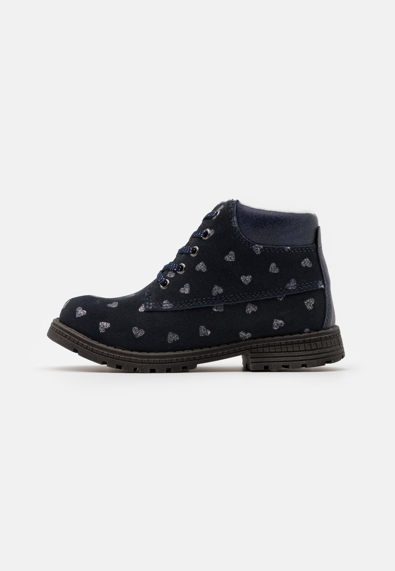 Friboo - Šněrovací kotníkové boty - dark blue