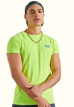 OL - Basic T-shirt - neon yellow