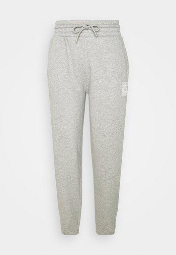 WOMEN´S PANTS - Tracksuit bottoms - grey heather melange