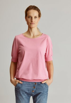 OKTA - T-shirt print - pink