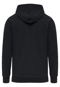 Hummel - HMLISAM  - Zip-up sweatshirt - black - 5