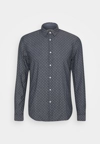 TOM TAILOR DENIM - HIDDEN BUTTON DOWN - Shirt - navy - 0