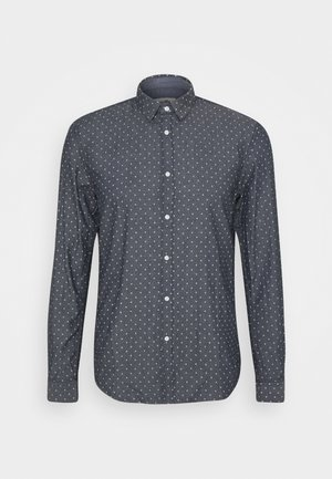 HIDDEN BUTTON DOWN - Shirt - navy