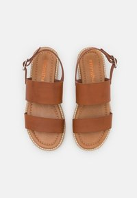 Emmshu - ANIELA - Sandaalit nilkkaremmillä - brown - 5