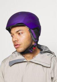 Alpina - LAVALAN  - Helmet - dark violet matt - 1