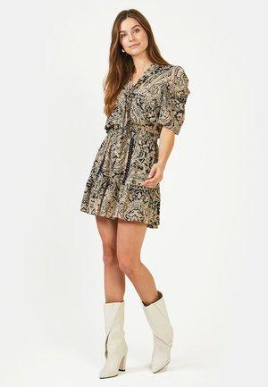 SELIN PAISLEY PES 533 - A-line skirt - black dessin