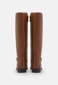 Lauren Ralph Lauren - BRADLEIGH TALL BOOT - Boots - deep saddle tan - 3