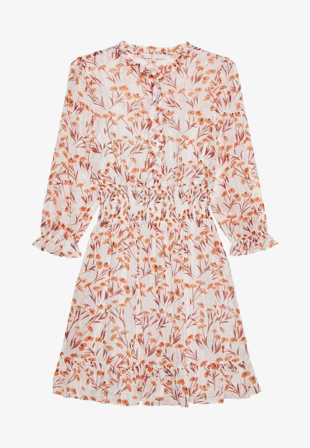 RYTHONA - Shirt dress - terracotta