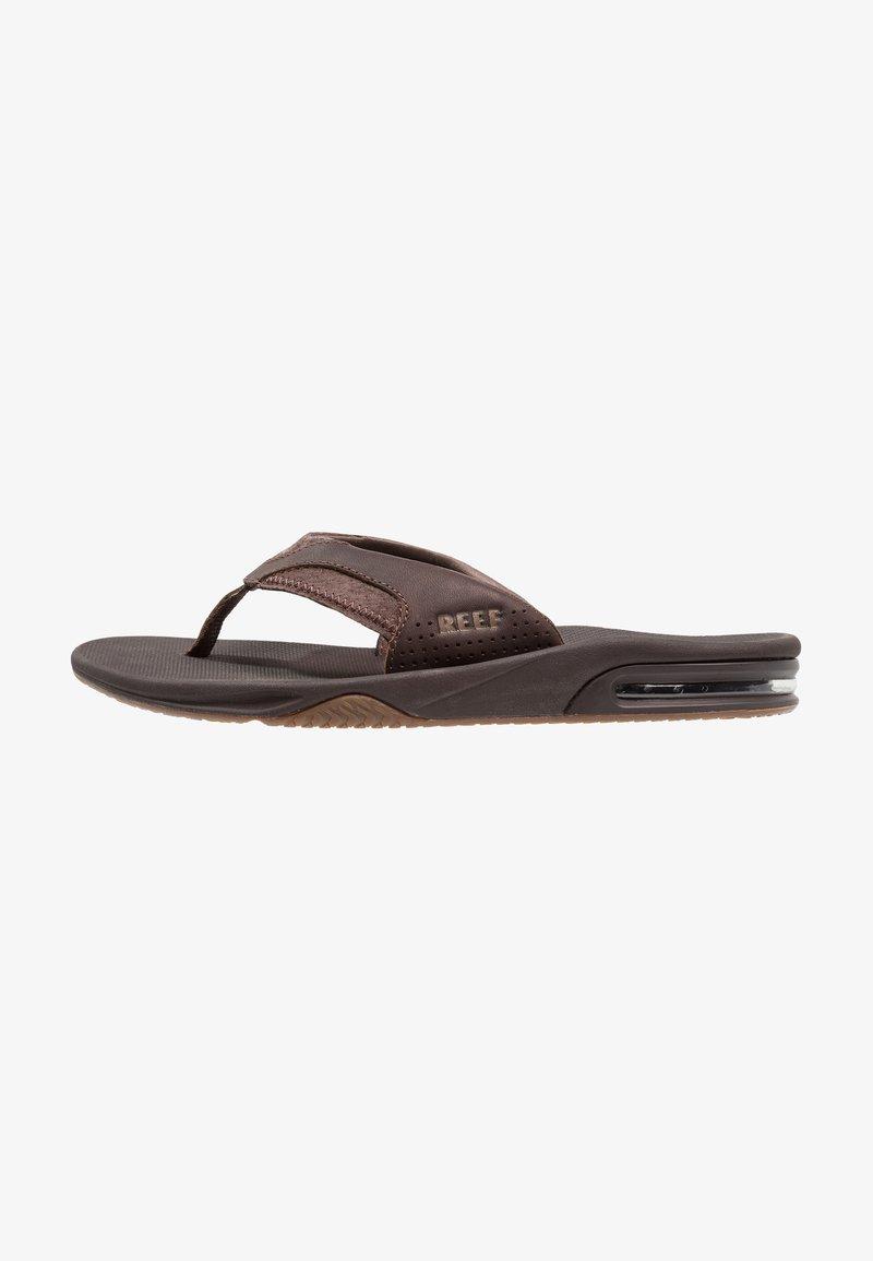 Reef - FANNING - Sandály s odděleným palcem - brown
