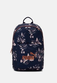 Puma - CORE BACKPACK - Rucksack - peacoat/rose gold - 0