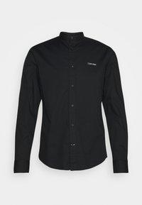 STAND UP COLLAR - Camicia - black