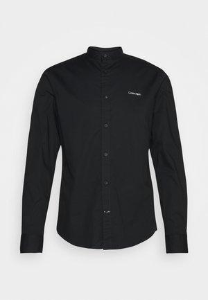 STAND UP COLLAR - Skjorta - black