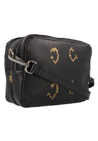 Cowboysbag - BOBBIE - Across body bag - snake black/gold - 1