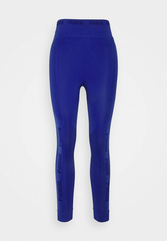 EVOKNIT SEAMLESS LEGGINGS - Legging - clematis blue