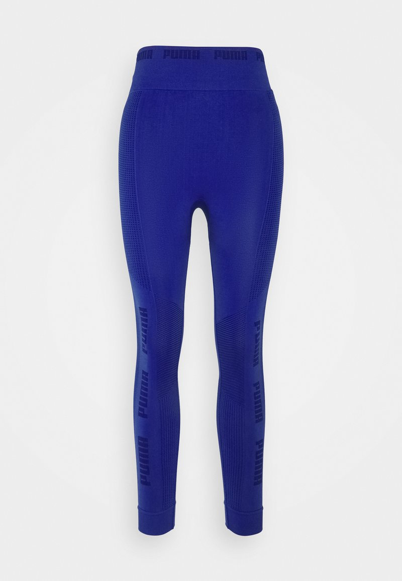 Puma - EVOKNIT SEAMLESS LEGGINGS - Medias - clematis blue
