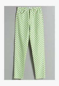 Bershka - Straight leg jeans - green - 4