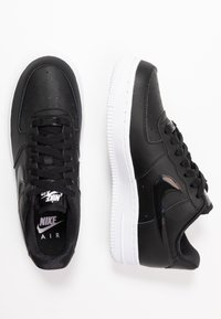 Nike Sportswear - AIR FORCE 1 - Trainers - black/white - 3