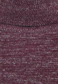 GAP Petite - TURTLENECK DRESS - Strikket kjole - secret plum - 5