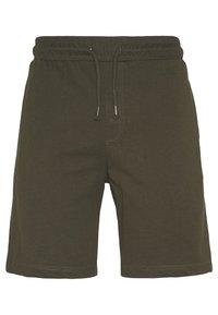 Brave Soul - BARKERB - Shorts - dark khaki - 3