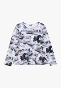 Molo - ROSALIND - Langærmede T-shirts - mottled grey - 0