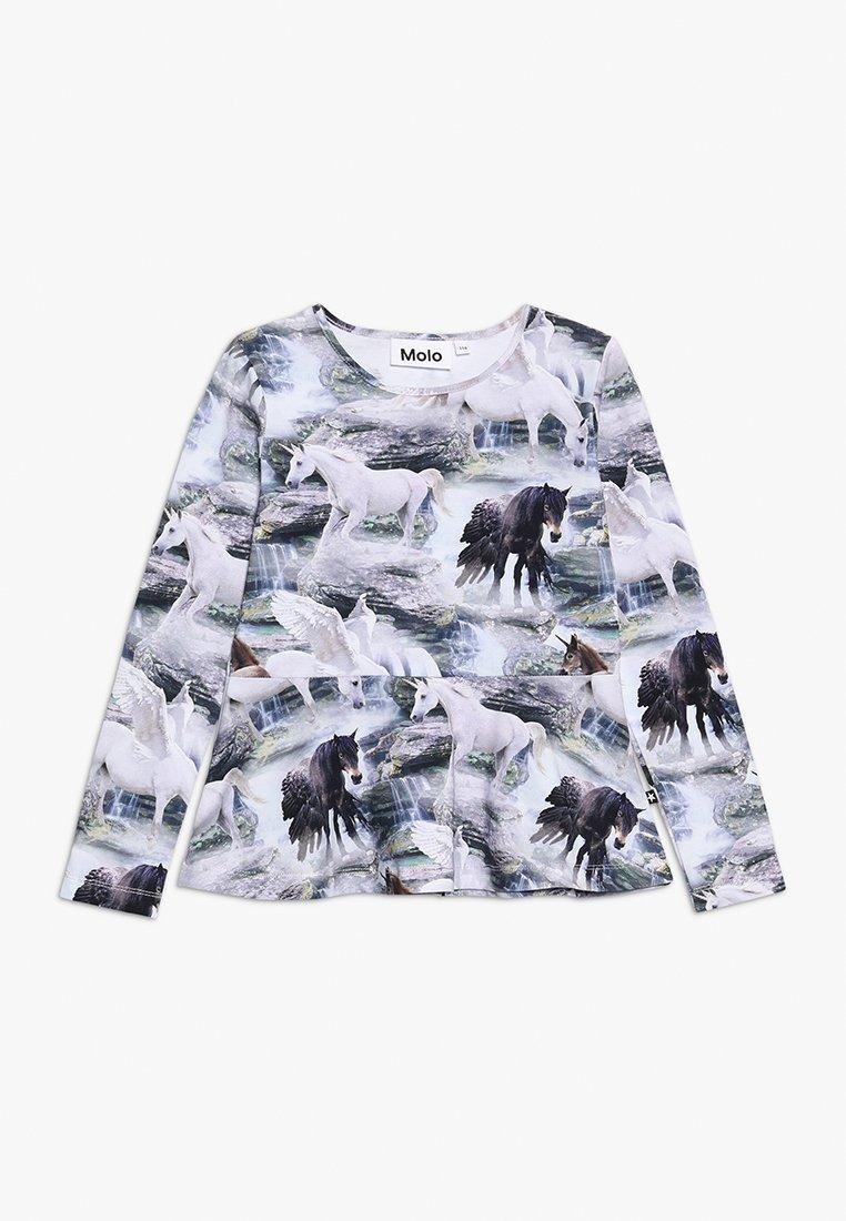 Molo - ROSALIND - Langærmede T-shirts - mottled grey
