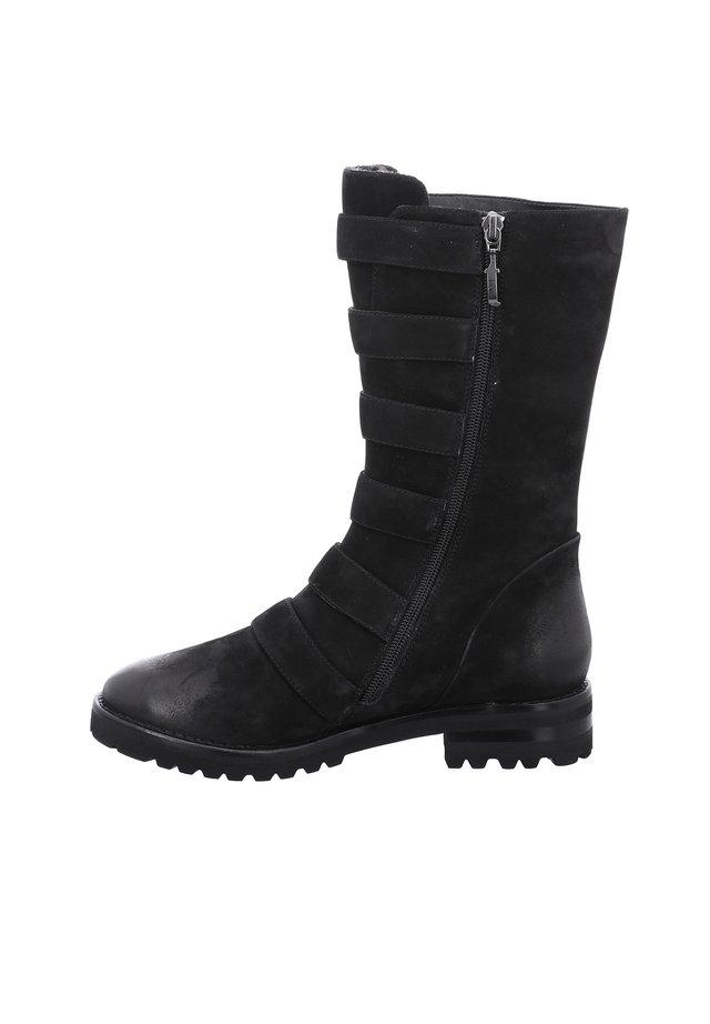 DALLAS - Cowboy/Biker boots - schwarz
