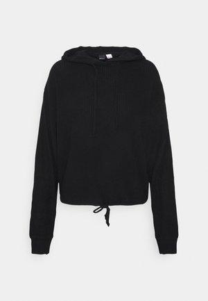 STINA HOODIE - Pyjama top - black