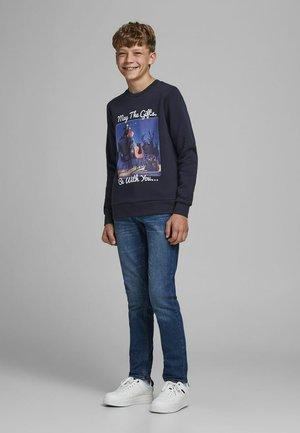 J&J - Sweatshirt - navy blazer